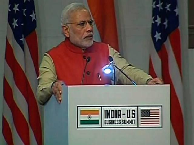 Prime Minister Narendra Modi's Speech at the Indo-US business summit
