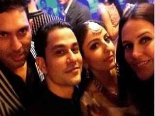 soha ali khan's wedding's pics