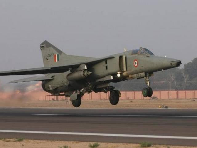 mig 27_Indian Air Force_