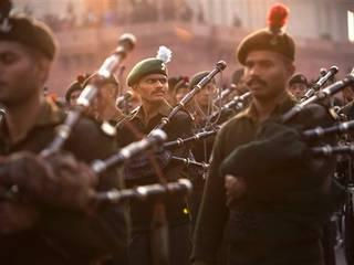 Indian tunes dominate Beating the Retreat