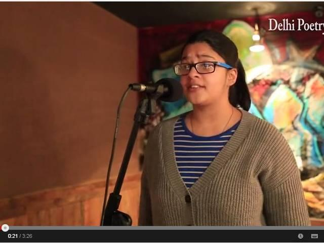 Performed by Rene Verma, watch a female rapper's response to how rap music defines women in narrow and derogatory ways