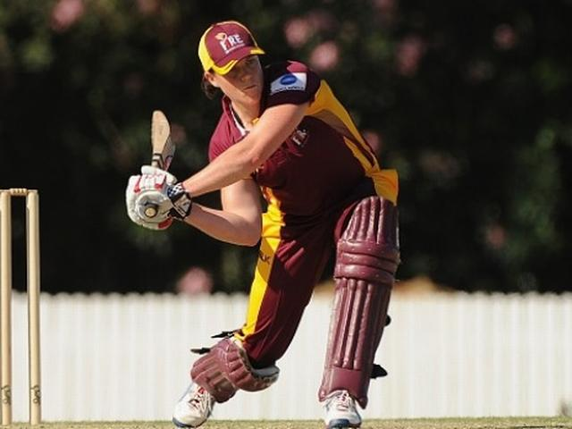 Cricketer Grace Harris smashes 151 not out off 74 balls