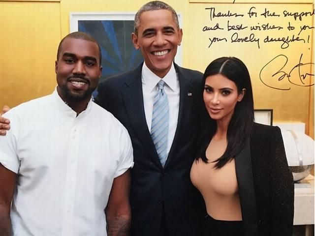 kim kardashian_kanya west_obama_