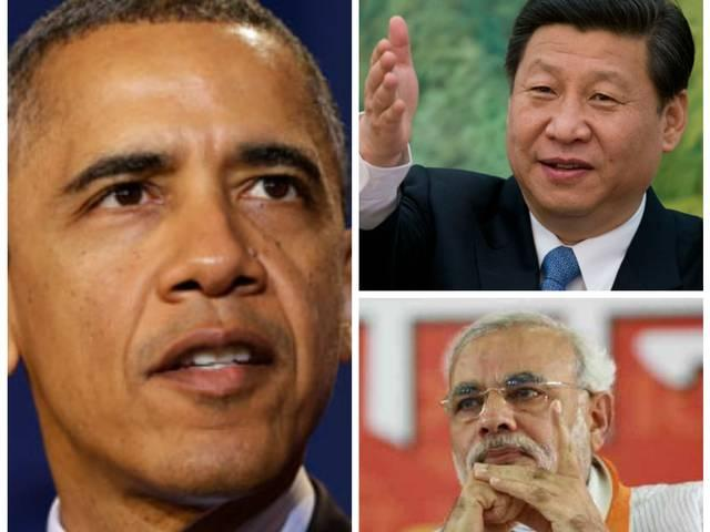 good relations with india never means a threat to china says obama