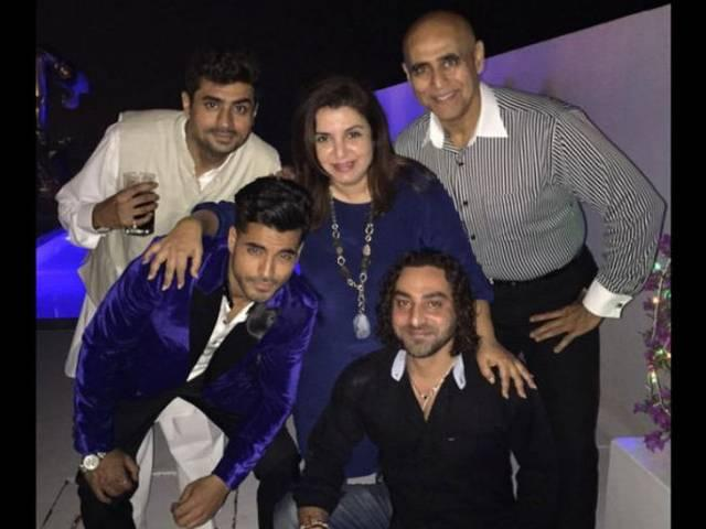bigg boss party hosted by farah khan