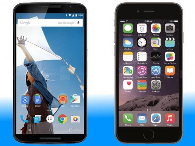 IOS BEAT android in U.S