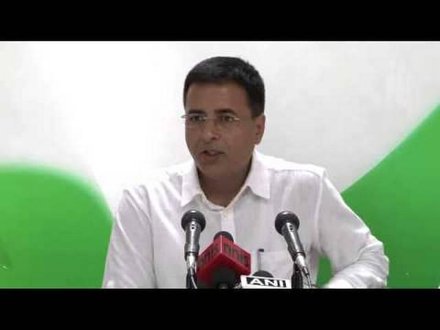 congress said Modi should come forward and should apologize to people of country