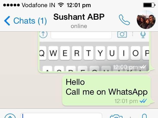 whatsapp's ready to lanch it's calling feature