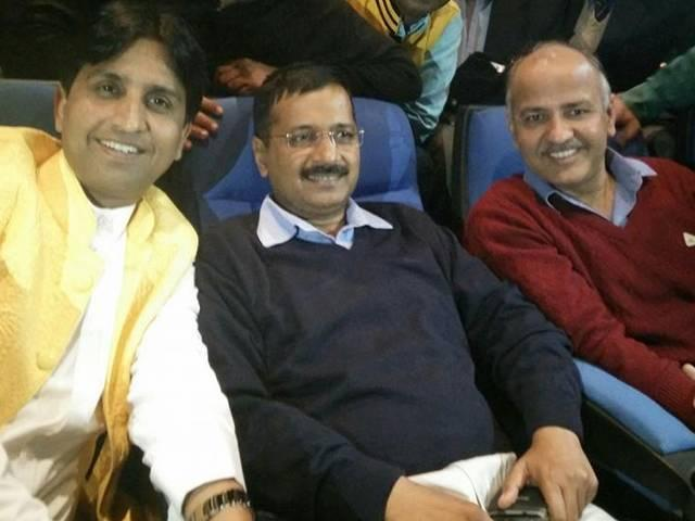 Arvind Kejriwal_Manish Sisodia_kumar Vishwas_Baby Movie_Family_Volunteers