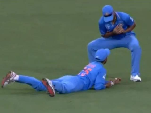 Team India_Afghanistan_World Cup 2015_Warm Up Match_Ravindra Jadeja_shikhar Dhawan_Umesh Yadav