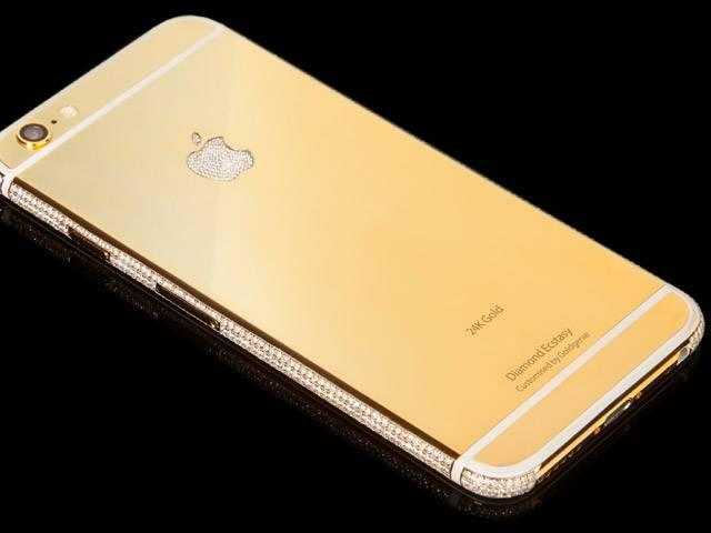 Goldgenie unveils diamond-studded iPhone 6