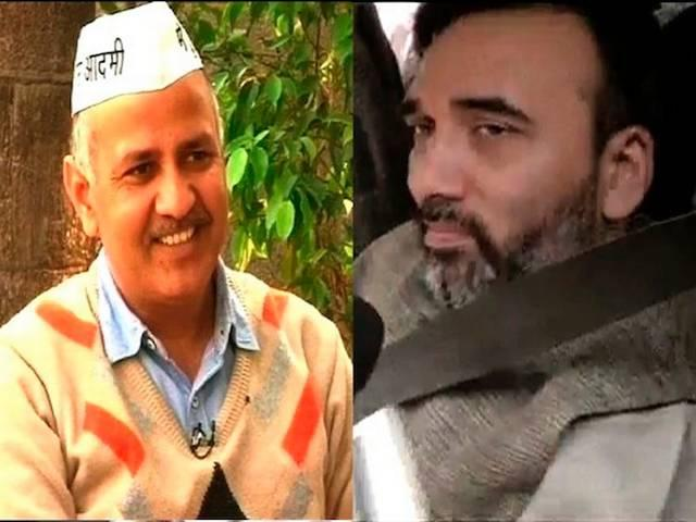 Kejriwal's cabinet to have Sisodia as deputy CM