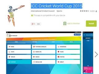 Stay tuned to World Cup 2015 with these cricket-y apps