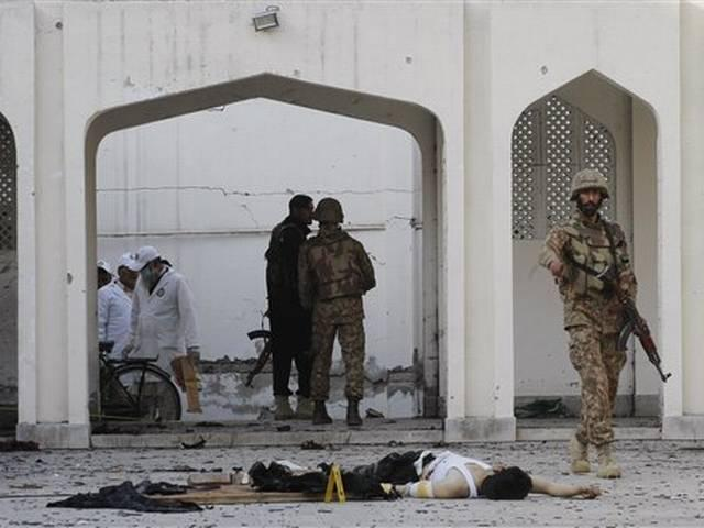 pakistan: shia mosque attack, death toll numbers 22