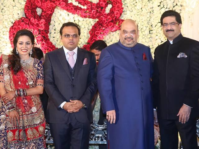 President, Prime Minister Attend BJP President Amit Shah's Son's Reception