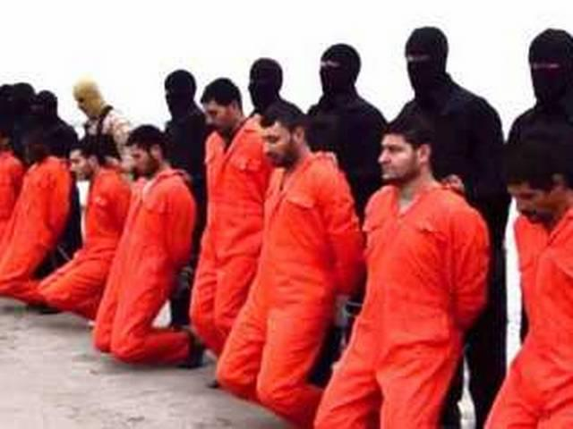 IS says it has beheaded Egyptian Copts in Libya: video