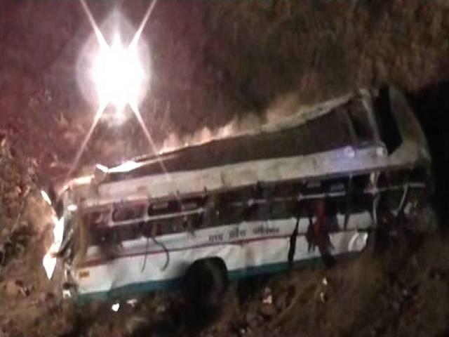 10 killed, 40 injured as bus plunges into valley in MP