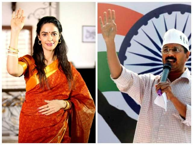 delhi cm arvind kejariwal was proposed a role in the dirty poltics says mallika sherawat