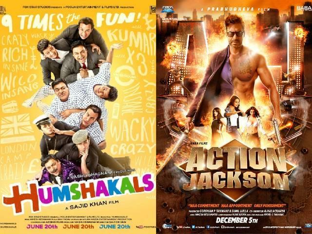 'Humshakals', 'Action Jackson' lead Golden Kela Awards nominations