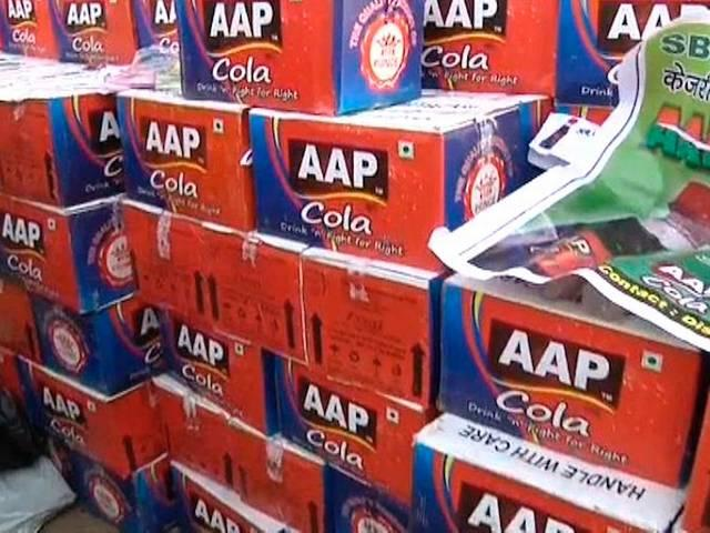 app sarkar boosts the demand for aap cola