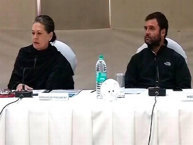 congress president sonia gandhi and vice president rahul gandhi shuold apologies for supporting pakistan says bjp