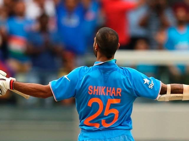 team India_World Cup 2015_First Innings_South Africa_Shikhar Dhawan_