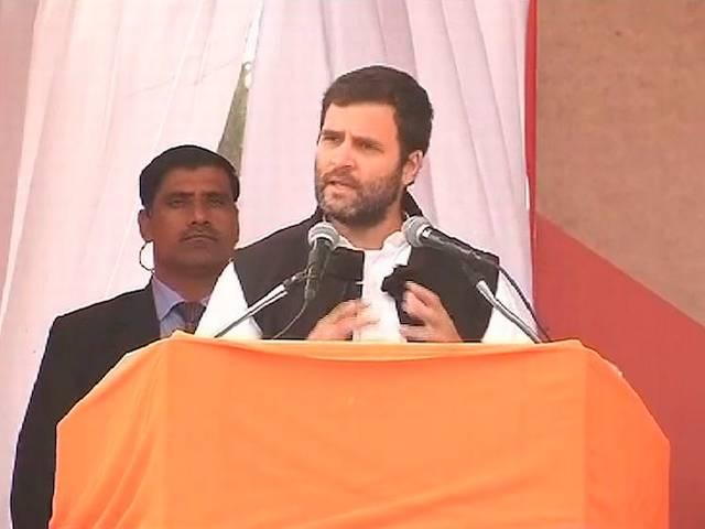 rahul gandhi angry with party!