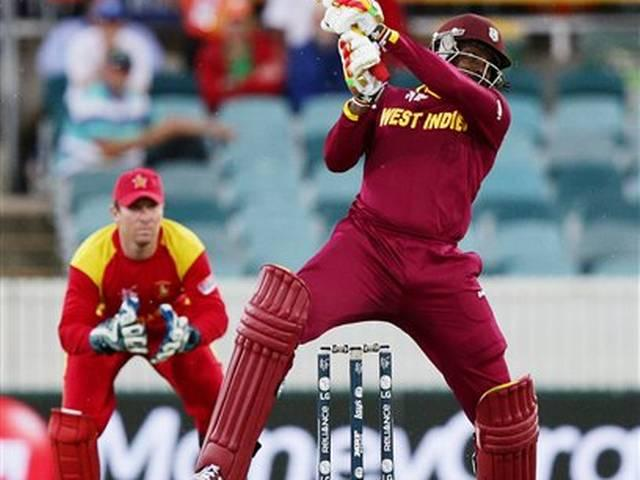 World Cup 2015_Chris Gayle_World Record_West Indies_Zimbabwe_