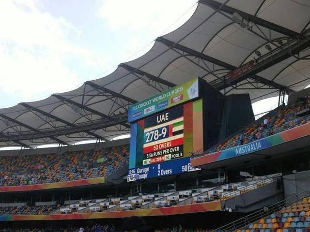 World Cup 2015_Ireland_UAE_Shaiman Anwar_Vishwa Vijeta_