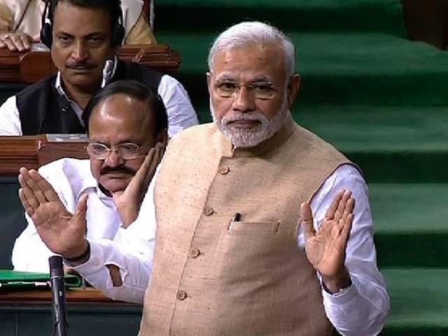 pm narendra modi comment on opposition