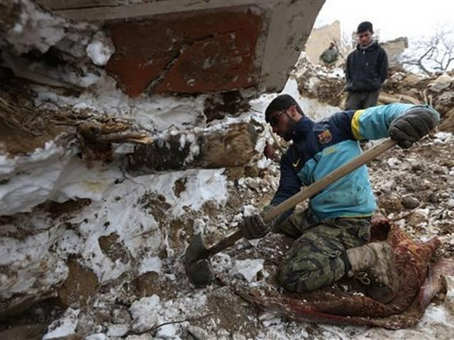 Afghan avalanches, flooding death toll rises to near 250
