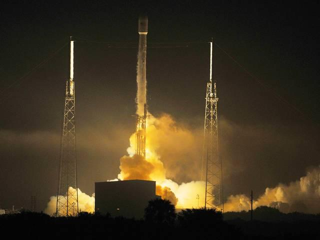 SpaceX rocket lifts off with world's first all-electric satellites