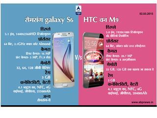 MWC 2015: HTC वनM9 Vs गैलेक्सी s6: किसने मारी बाजी!