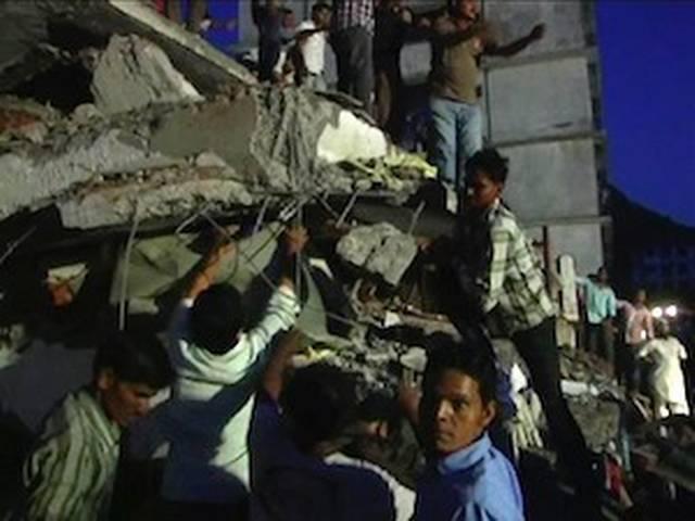 मुंबई इमारत हादसे में अब तक 35 मरे