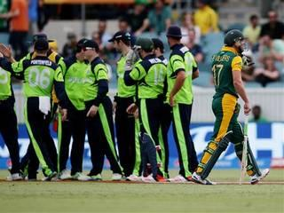 South Africa post 411 against Ireland