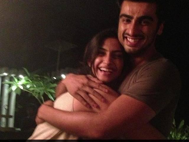 Cousin Arjun Kapoor tweets about Sonam's recovery