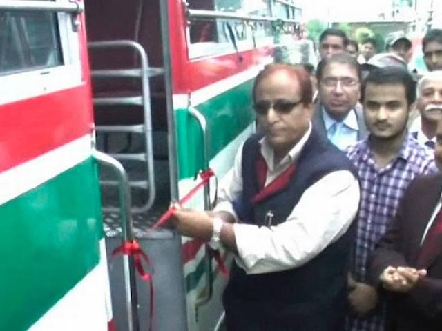 SP leader Azam Khan courts controversy again, drives bus without license