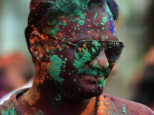 Holi celebration in all over India