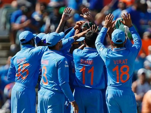 India enter quarter-finals after hard-fought win over WI