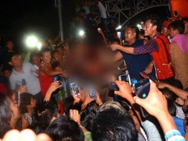Nagaland Dimapur incident: three officers suspended