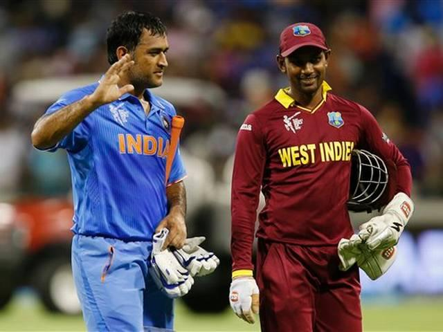 World Cup 2015_Mahendra Singh Dhoni_Team India_West Indies_