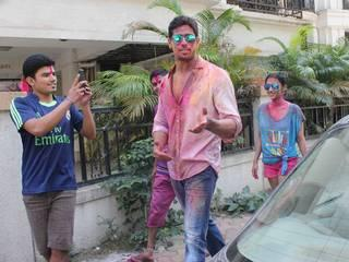 Bollywood stars holi celebration