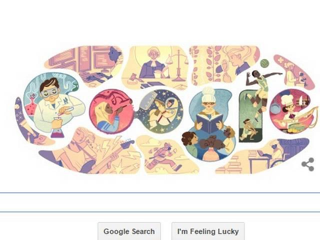 google_makes_doodle_on_women_day