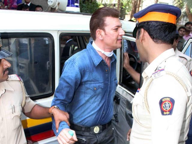 Aditya Pancholi produced in court
