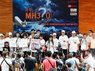 people on board the flight on Sunday were marking the anniversary of the plane's disappearance
