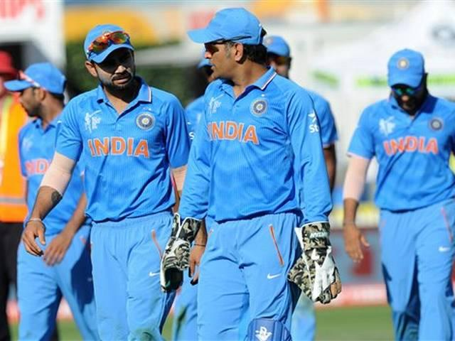 Team India_World Cup 2015_Ireland_Mahendra Singh Dhoni_Ajinkya Rahane_Niall O Brien_