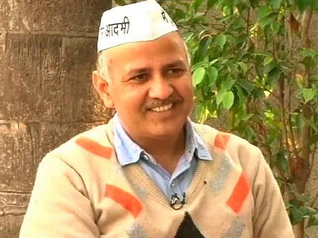 Manish Sisodia_AAP Government_
