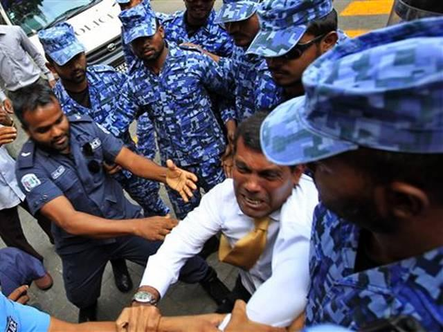 Maldives ex president sentenced to 13 years in jail