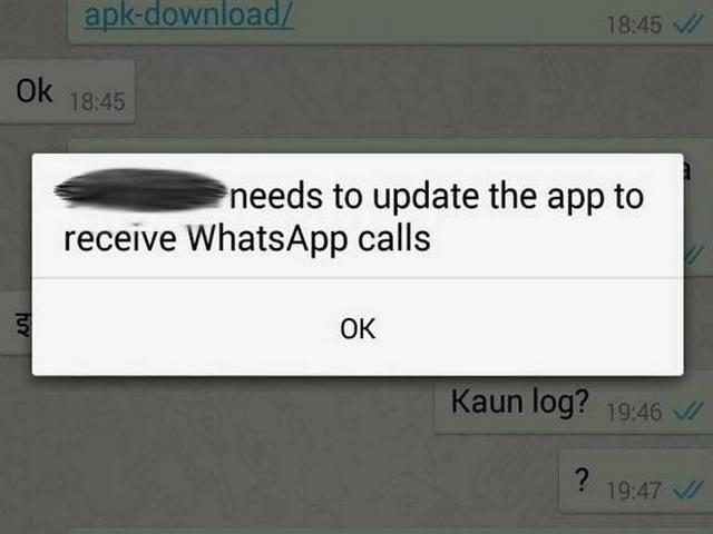 WhatsApp releases voice calling feature for Android users
