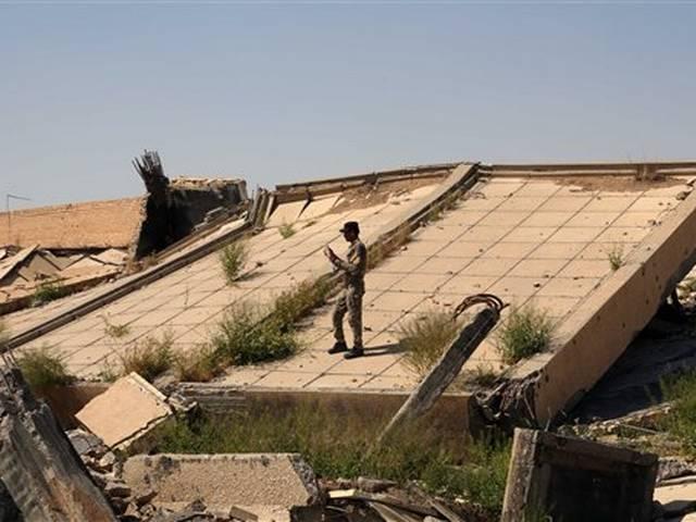 iraq: saddam hussain's tomb sufers extensive damage